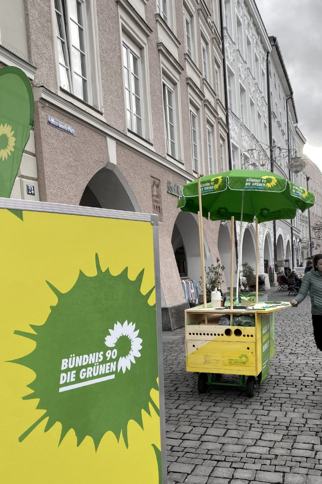 Bündnis 90 / die Grünen Wahlmobil
